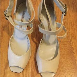 Brazilian leather heels